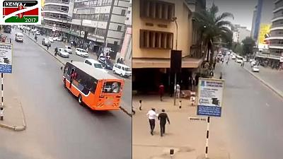 Nairobi is calm, hours ahead of Kenya's presidential election [Video]