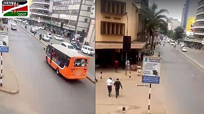 Nairobi is calm, hours ahead of Kenya's presidential election [Video]