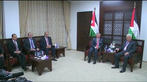 سفر پادشاه اردن به رام الله برای گفتگو با محمود عباس