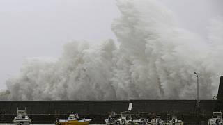Typhoon Noru takes aim at central Japan