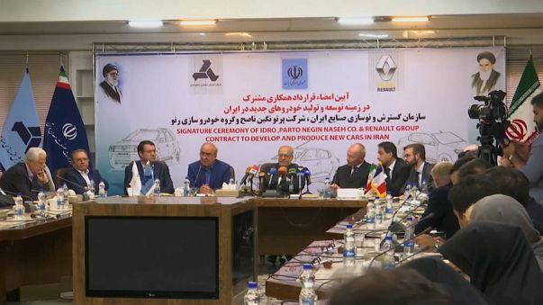 Renault va in Iran: 150mila veicoli ogni anno