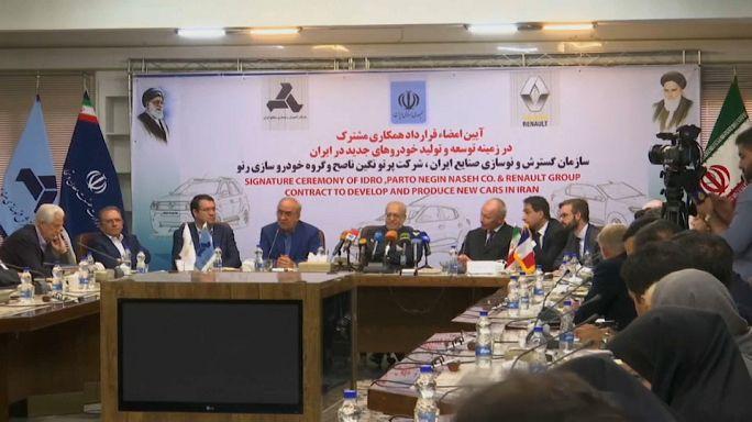Un contrat à 660 M€ pour Renault en Iran