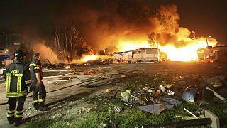 ایتالیا؛ بازداشت ۱۵ آتشنشان به اتهام آتشسوزی عمدی