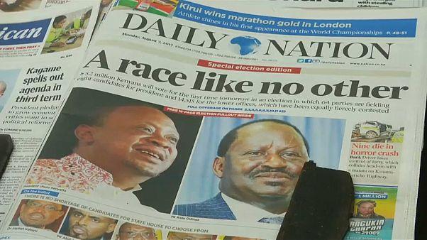 Le Kenya à la veille d'une présidentielle tendue