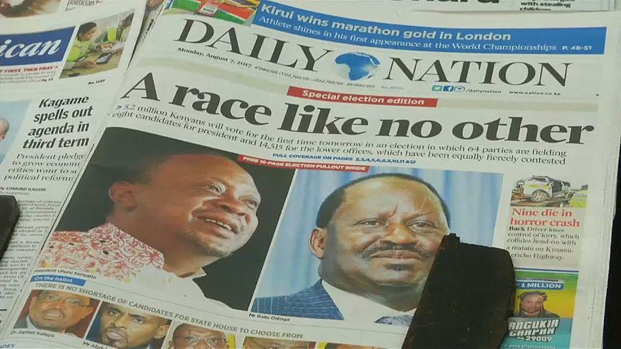 Eleições tensas no Quénia