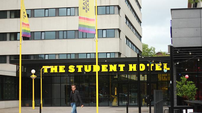 The dark side of tourism: Amsterdam's homeless students