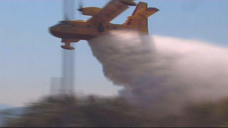Wildfire brought under control in Croatia