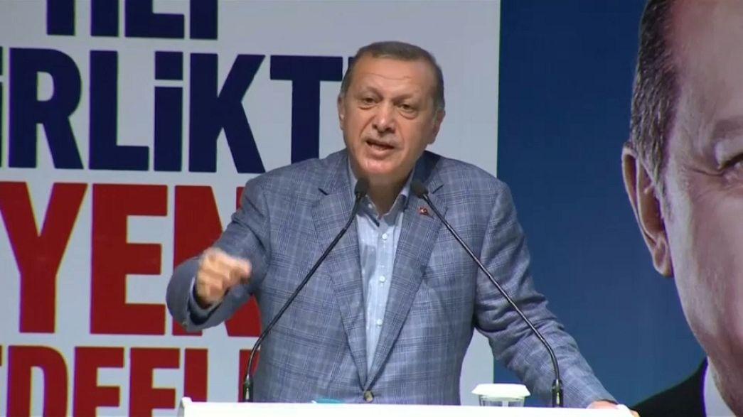 Erdogan: 'Germany abetting terrorism'