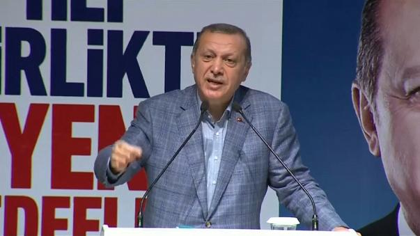 Erdogan szerint Németország terrorizmusra bújtogat