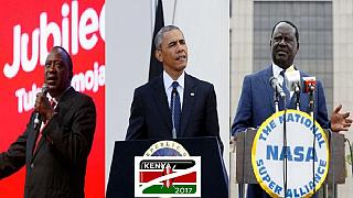 """Kenya : l'appel de Barack Obama à des élections """"pacifiques et crédibles"""""""