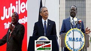 Obama, international observers call for peaceful, credible polls in Kenya