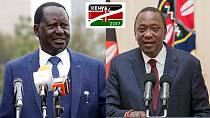 Uhuru vs. Odinga: The social media battlefield as Kenya picks president