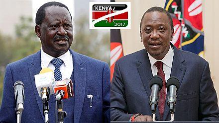 Uhuru vs. Odinga: The social media battlefield as Kenya picks president