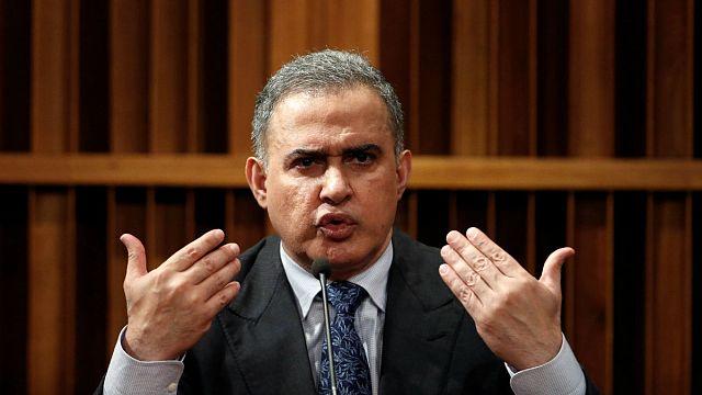 Venezuela's new chief prosecutor blames ousted Ortega for violence