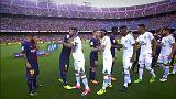 Jogadores desaparecidos do Chapecoense homenageados em Barcelona