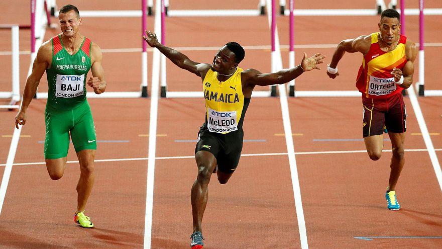Omar McLeod dedica medalha de ouro a Usain Bolt