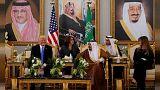"""السعودية تشيد""""بالتقدم الكبير"""" في العلاقات مع الولايات المتحدة في عهد ترامب"""