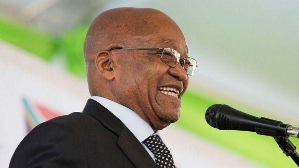 Distúrbios na África do Sul antes da moção de censura contra Zuma