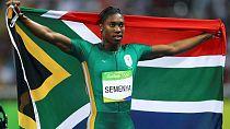Les tests de l'IAAF sur la testostérone sont absurdes (C. Semenya)