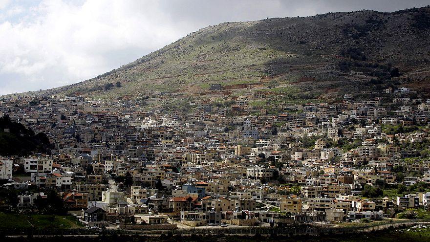 Image: The town of Majdal Shams in the Israeli-annexed Golan Heights on Mar