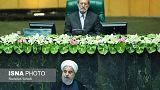 روحانی فهرست کابینه را به مجلس فرستاد