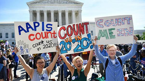 Image: us-politics-census-protests-rally-demonstration