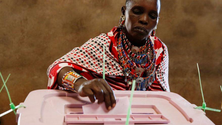 Kenya devlet başkanını seçiyor