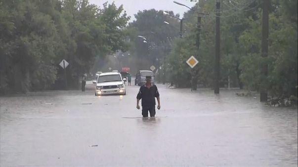 Приморье: последствия стихии