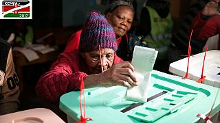 102-year-old Kenyan granny braves the cold to vote