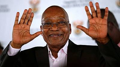 South Africa's Zuma gets ANC backing again in no-confidence vote