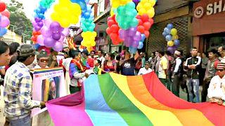 Nepal 'Gay Pride' brings colour to Kathmandu