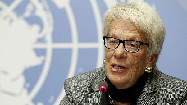 """Carla Del Ponte: """"La politica blocca il Consiglio di Sicurezza"""""""