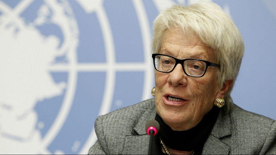 Syria investigator Del Ponte tells Euronews why she quit