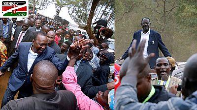 Kenya Votes: What did Kenyatta, Odinga say after casting their ballots?
