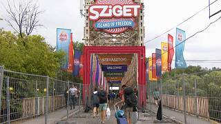 Budapest braces for 25th Sziget music festival