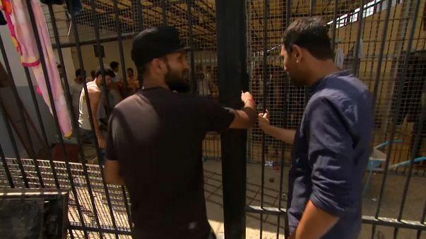 "O ""inferno"" dos migrantes na Líbia"