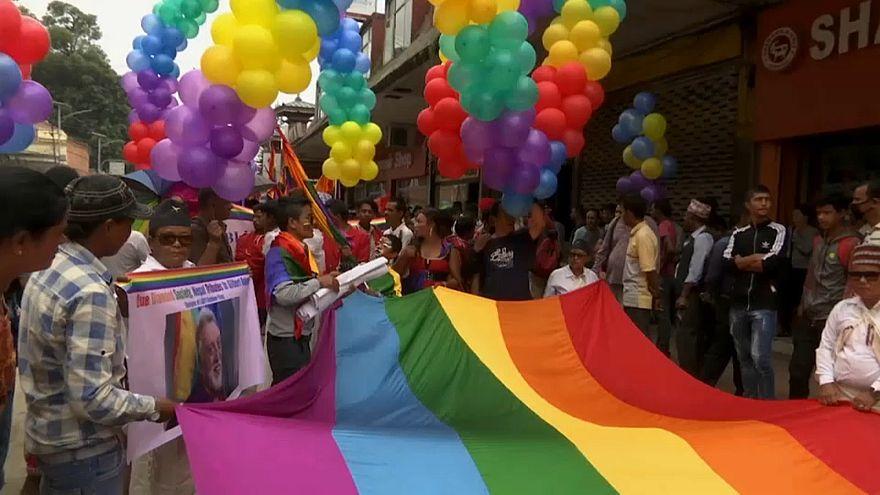 Plus de 500 personnes à la Gay Pride de Katmandou