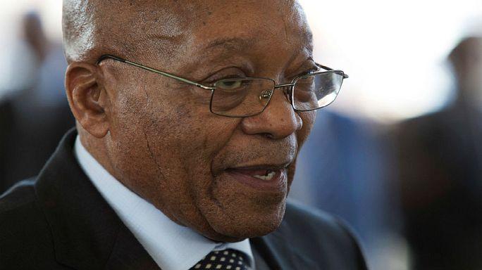 Af. Sud : Jacob Zuma surmonte une motion de défiance