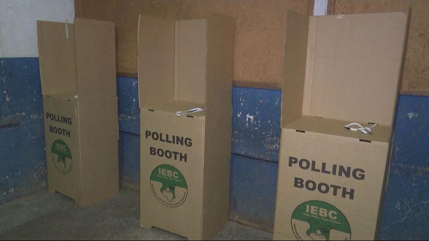 Les Kényans ont voté dans le calme