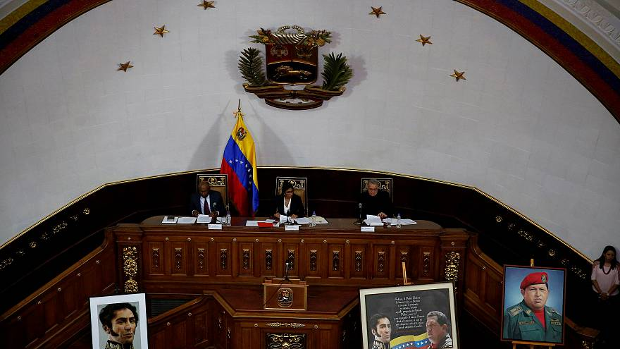 Venezuela's constiuent assembly takes over parliament