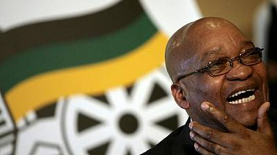 South Africa's Zuma survives no confidence vote held via secret ballot