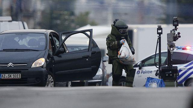 لا متفجرات في سيارة شخص زعم حيازته لقنبلة في بروكسل