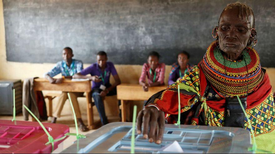 انتخابات ریاست جمهوری کنیا؛ اوهورو کنیاتا پیشتاز است