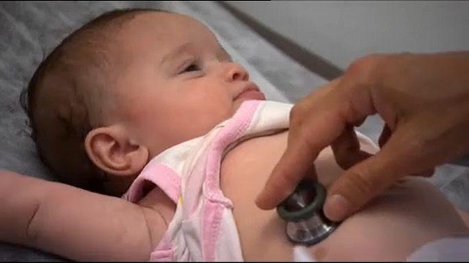 Több görög csecsemő halt meg a válság alatt