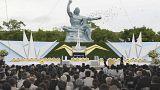 Nagasaki kurbanları anıldı