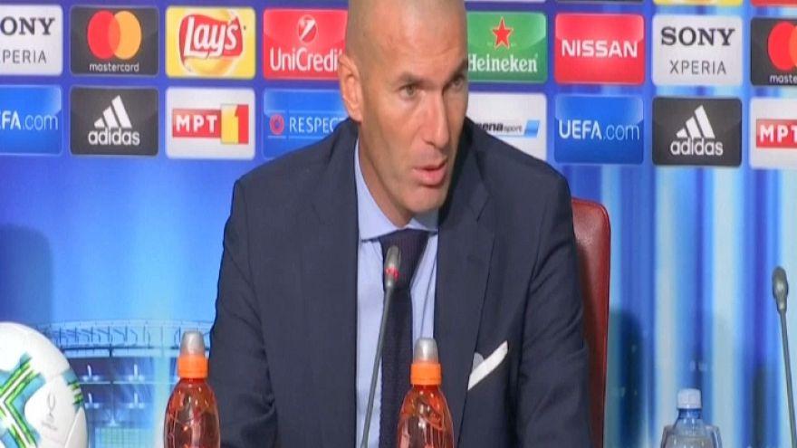 """Supercoppa, Zidane: """"Noi affamati di vittorie"""""""