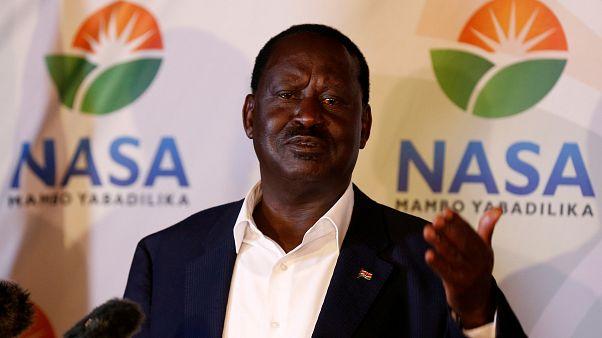 رهبر مخالفان در کنیا نتیجه انتخابات ریاست جمهوری را رد کرد