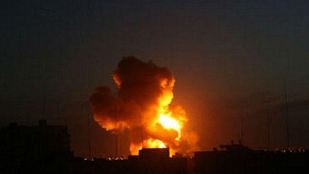 اصابة 3 أشخاص في قصف اسرائيلي لقطاع غزة
