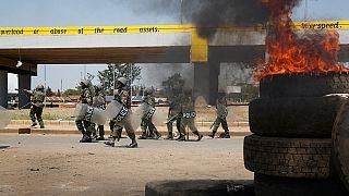 Kenyan police fire teargas at chanting Raila Odinga supporters