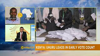 Kenyatta leads in early poll results, Odinga rejects results [The Morning Call]